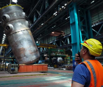 Atommash has successfully performed the hydraulic tests of the reactor pressure vessel for the first power unit of the