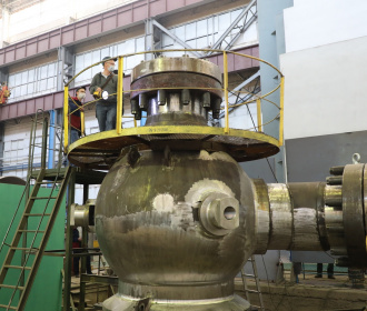 The RCP housing for Rooppur NPP passed hydraulic tests at Petrozavodskmash