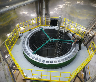 Check assembly of the reactor for the first power unit of Akkuyu NPP has been started at Atommash