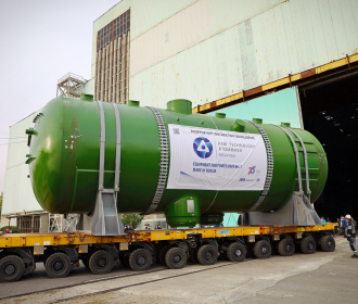 """Atommash"" has shipped the set of equipment for ROOPPUR NPP"