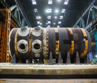 "Heat treatment of Reactor Vessel for Unit No.2 of ""Rooppur"" NPP has been finished at Atommash"