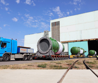 Atommash has shipped the first Reactor Pressure Vessel for the first nuclear power plant under construction in the Republic of Turkey